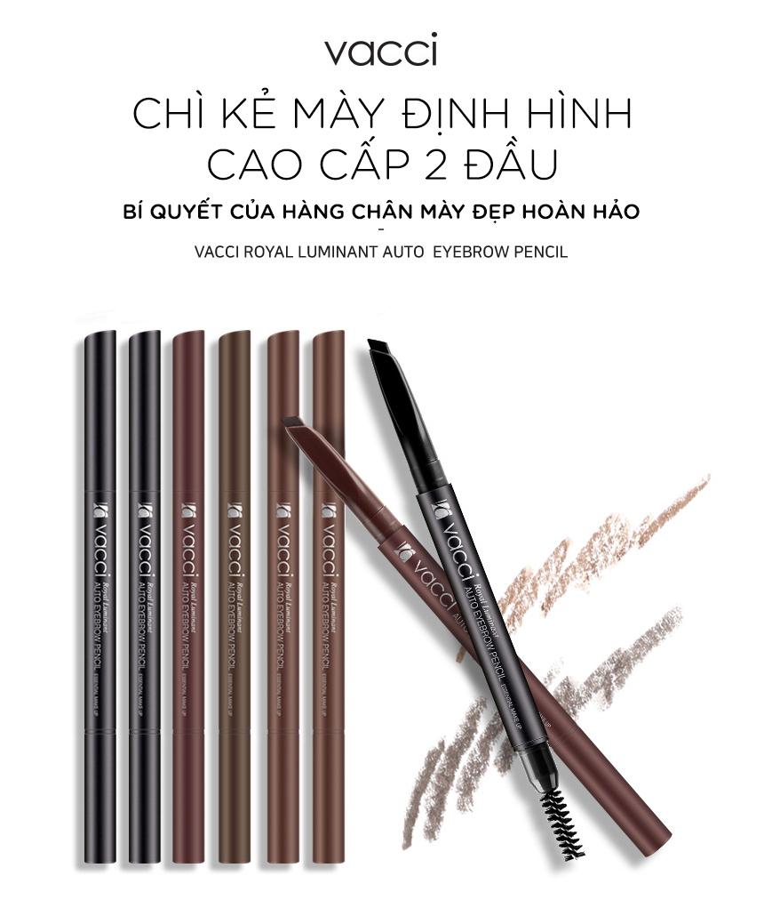 Chì mày định dạng không nổi Vacci Auto Eyebrow Pencil